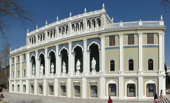 National Museum of Azerbaijan Literature of Nizami