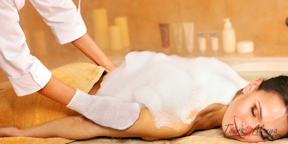 Peeling-Foam Massage